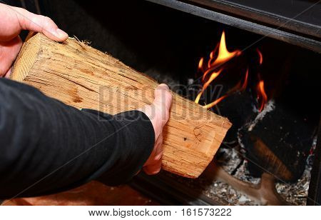 Heating The Fireplace