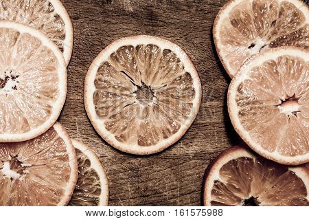 Beautiful Sliced Tangerine