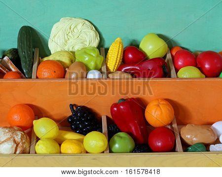 Plastic Fruit To Fruit And Vegetable Market For Children