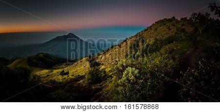 Mount Merbabu In Java