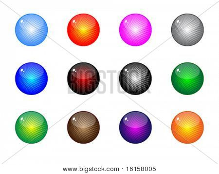 moder web buttons