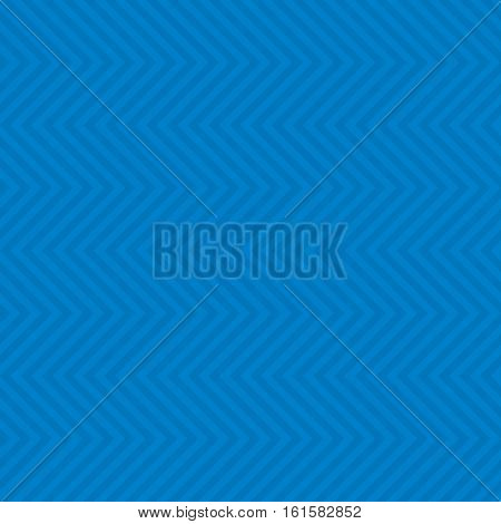 Chevron Pattern. Blue Neutral Seamless Pattern for Modern Design in Flat Style. Tileable Geometric Vector Background.