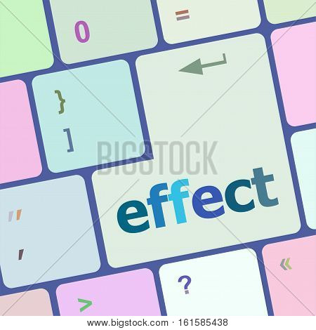 Computer Keyboard With Key Online. Internet Concept.