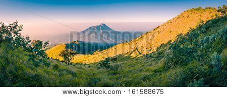 Beautiful Mount Merbabu