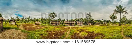 Village Houses In Dekai