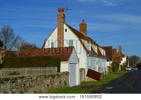 Cottages in the Village of Winchelsea East Sussex UK