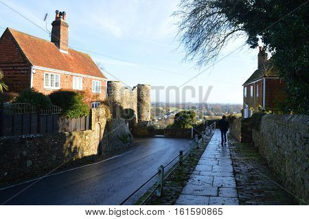 Winchelsea Village and Gatehouse East Sussex UK