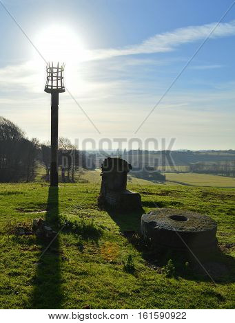 The Signal Beacon at Winchelsea East Sussex UK