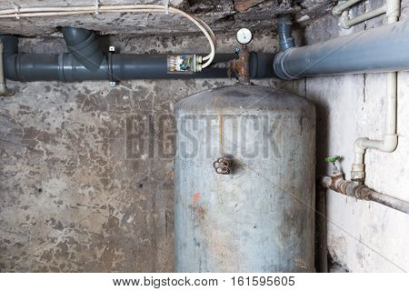 Boiler In Home Basement.