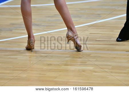 Legs Of A Dancing Girl
