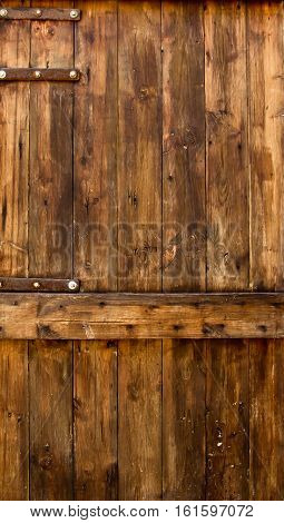 Old wooden door trim see clearly background