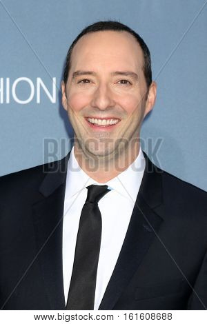 LOS ANGELES - DEC 11:  Tony Hale at the 22nd Annual Critics' Choice Awards at Barker Hanger on December 11, 2016 in Santa Monica, CA