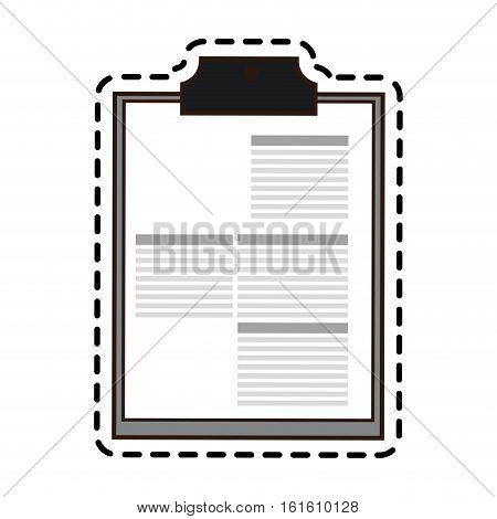 History icon. Medical health care hospital and emergency theme. Isolated design. Vector illustration