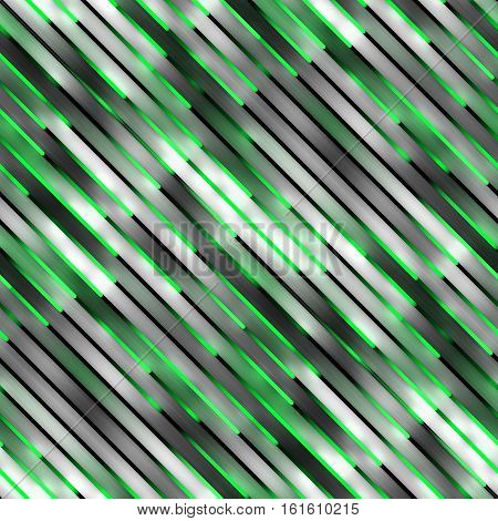 Gradient Neon green Motion Lines. Abstract Geometric Background Design. Seamless Multicolor Pattern