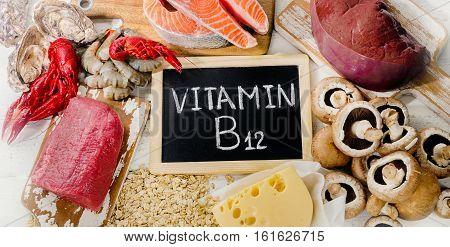 Natural Sources Of Vitamin B12 (cobalamin).
