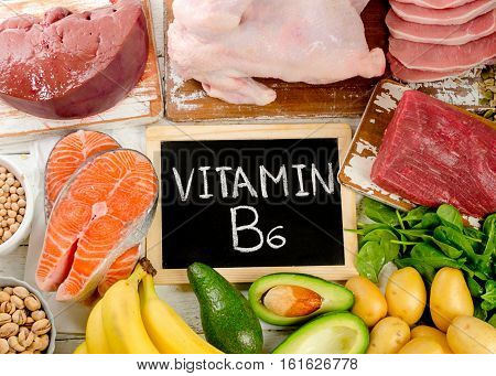 Products With Vitamin B6.