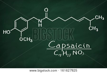 Structural Model Of Capsaicin