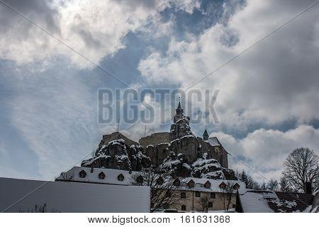 Old Castle In Bavaria, Germany