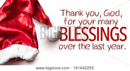 Thank You, God, for Your Many Blessings Over the Last Year