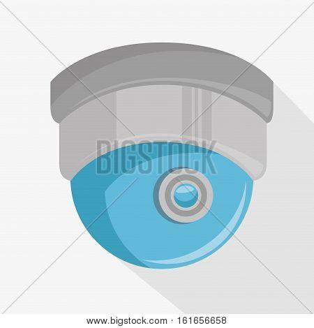 cctv camera dome icon vector illustration design