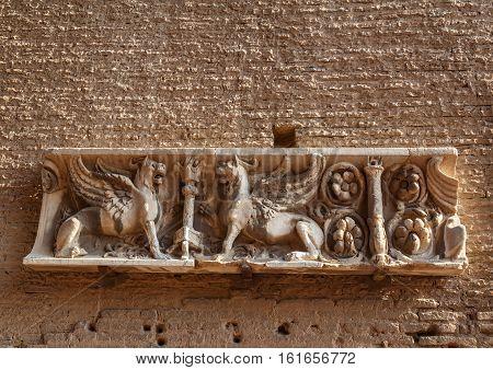 Rome Palatine Hill, A Fragment
