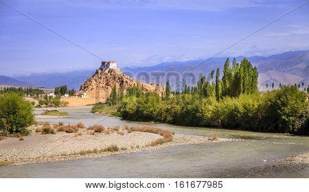 Stakna Buddhist Monastery near Leh, Kashmir, India