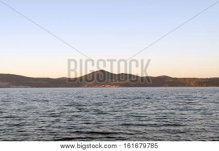 Trevignano town on Bracciano lake, Lazio, Italy