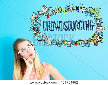 Crowdsourcing Dsconcept With Young Woman