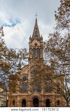 Temple Neuf in Strasbourg is a Lutheran church built on the site of the former Dominican conven France