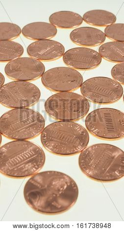 Dollar Coins 1 Cent Wheat Penny Cent - Vertical