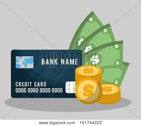 banking related icons image vector illustration design