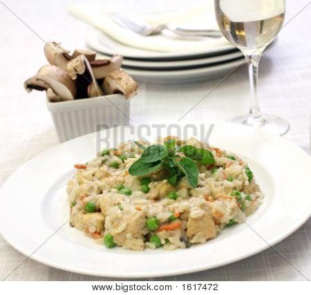Chicken Mushrrom Risotto