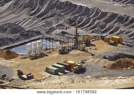 Brown Coal - Opencast Mining Garzweiler (germany)