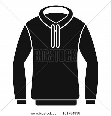 Hoody icon. Simple illustration of hoody vector icon for web