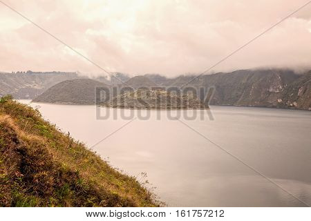 Cuicocha Crater Lake Ecological Reserve Cotacachi-Cayapas Ecuador South America