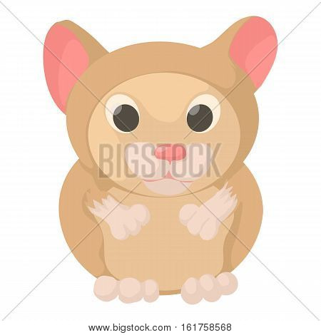 Hamster icon. Cartoon illustration of hamster vector icon for web