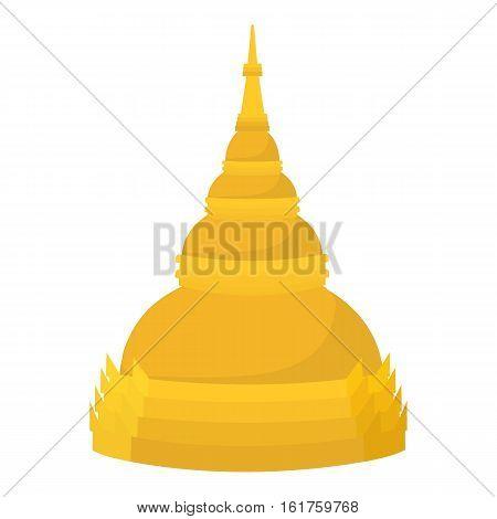 Dome icon. Cartoon illustration of dome vector icon for web