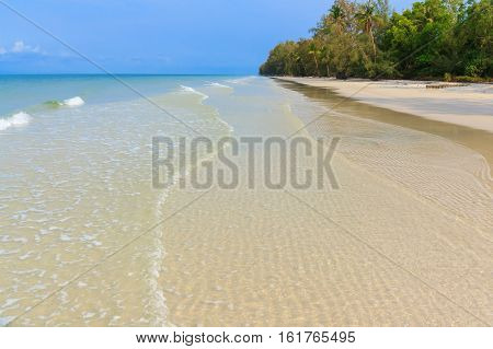 The Beach in Trad Province of Thailand