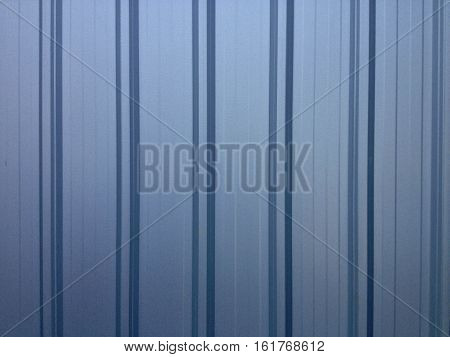 Blue gray galvanized iron sheet for texture and background