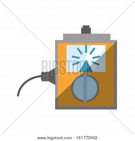 electronic repair calibration maintenance computer shadow vector illustration eps 10