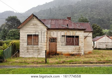 Abandoned Old Timber Home