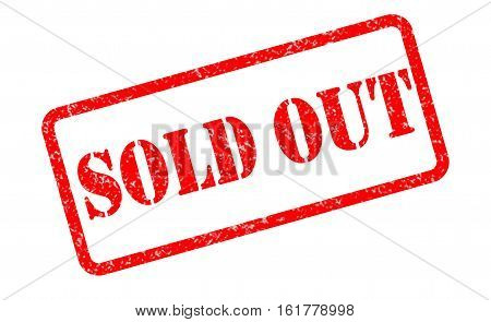 sold out stamp on white background. sold out stamp sign.