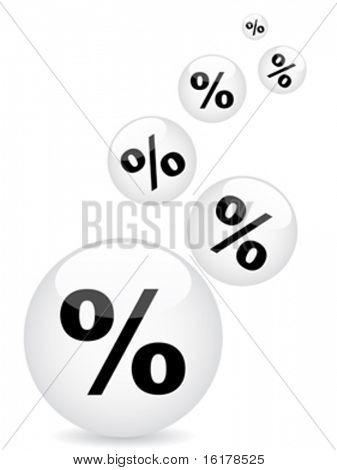 percent background