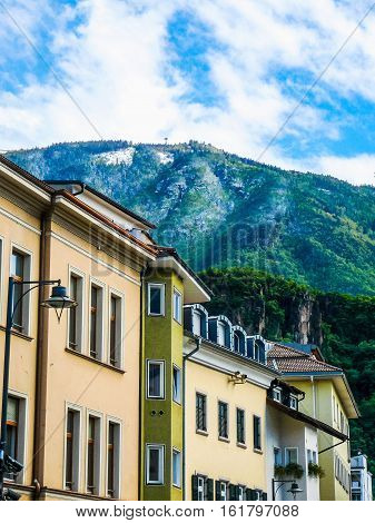 Hdr View Of Bolzano
