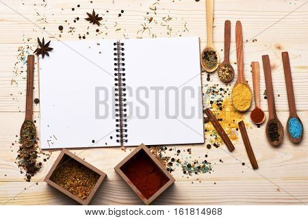 Aromatic Colorful Spices