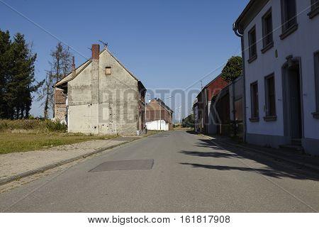 Immerath - Ghost Village Near Opencast Mining Garzweiler