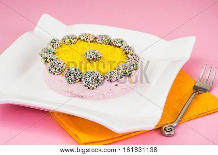 Diet Dessert: Fruit Jelly and Gelatin. Studio Photo