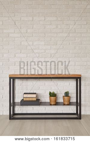 Furniture From Metal And Wood