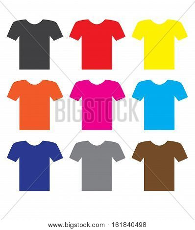 T-shirt Icon on white background. T-shirt Icon sign.