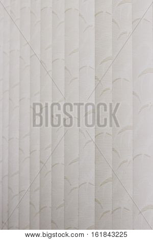 Venetian blinds, beige blinds with a touch of sepia